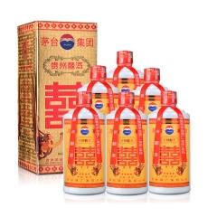 【老酒】38°茅台集团贵州囍酒500ml(2003-2004年)(6瓶装)