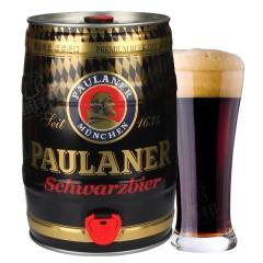 德国进口黑啤酒普拉那柏龙黑啤酒5L桶装