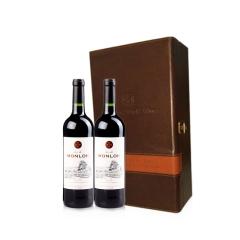 法国梦珑干红葡萄酒750ml(2支装)
