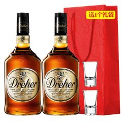 38°巴西卓尔DREHER白兰地配制酒900ml(双瓶装)