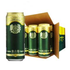 青岛(Tsingtao)啤酒奥古特500ml(12听整箱装)