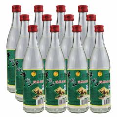 42°牛栏山二锅头新标白瓶白牛二500ml*12瓶整箱